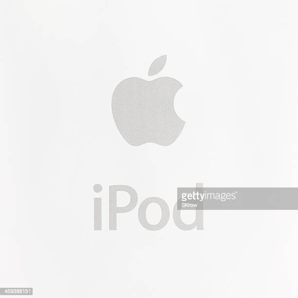 apple ipod - apple logo stock-fotos und bilder