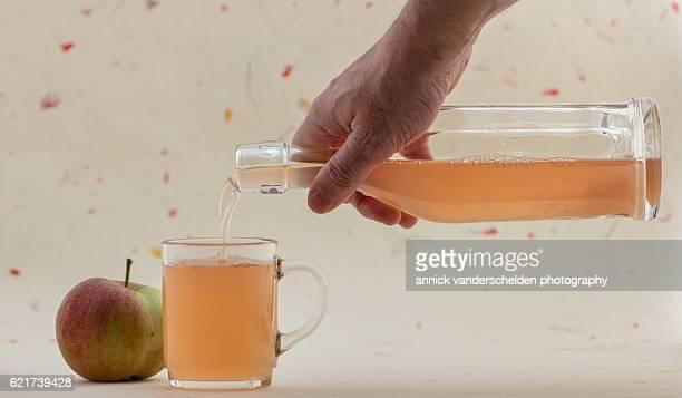 Apple juice.
