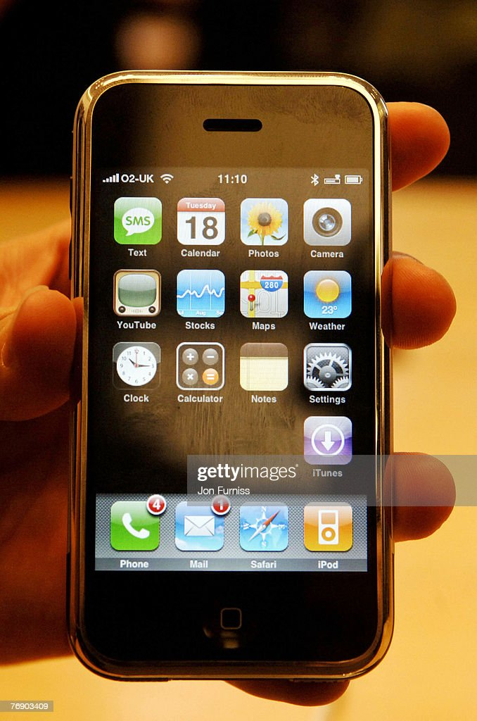 Apple Launch Of The Exclusive IPhone On O2 At Store Regents Street September