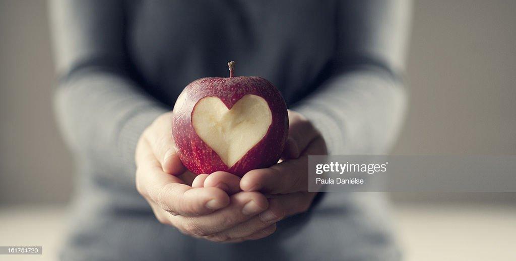 Apple Love : Stock Photo