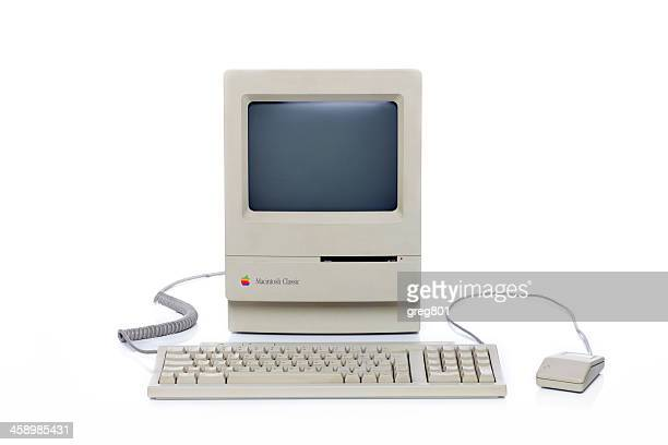 apple macintosh klassischen xxxl - historisch stock-fotos und bilder