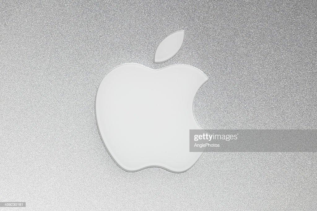 Logotipo da Apple Macintosh : Foto de stock