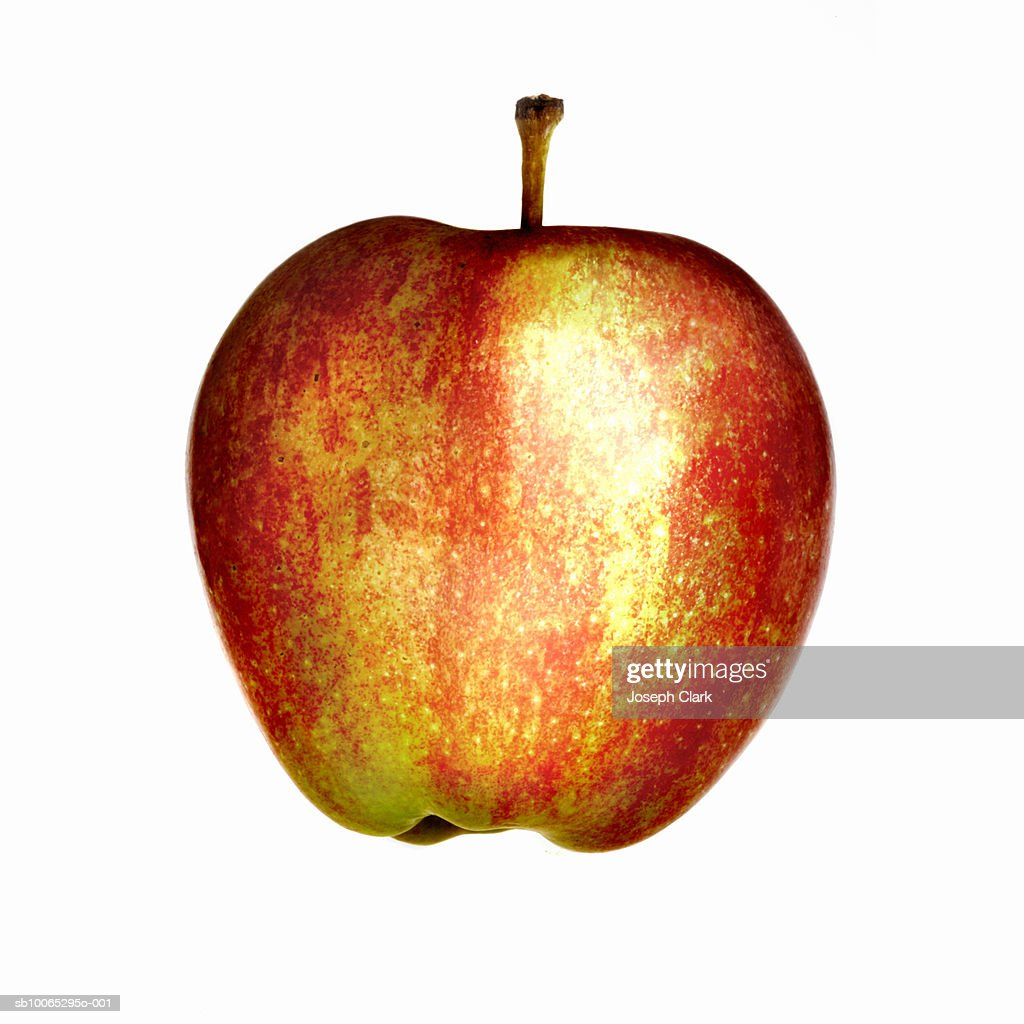Apple on white background : Foto stock