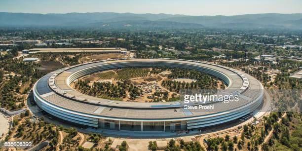 apple park - headquarters stock pictures, royalty-free photos & images