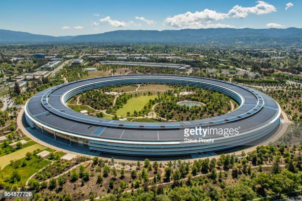apple park - apple park stock pictures, royalty-free photos & images