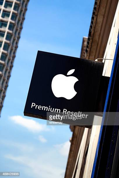 apple reseller sign in london - reseller stock photos and pictures
