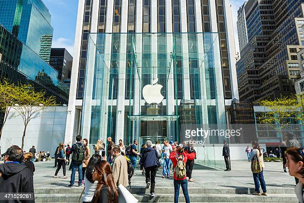 Apple retail store at 5th Avenue in New York City