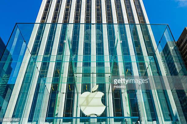 Apple retail store at 5th Avenue, New York City, USA
