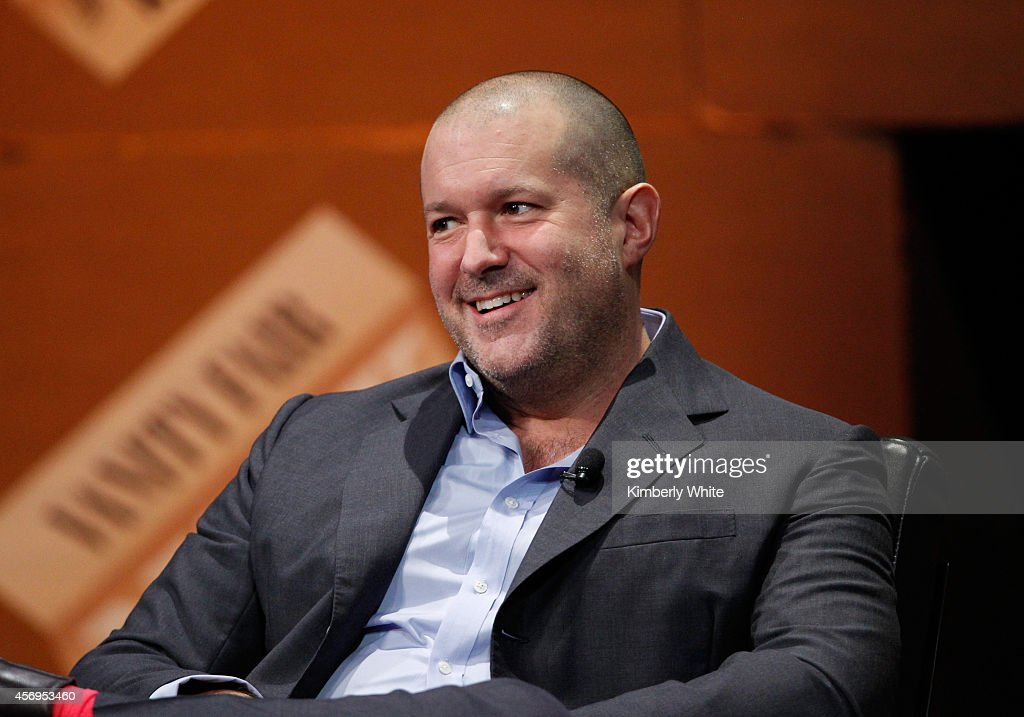 Apple Senior Vice President of Design Jonathan Ive speaks onstage during 'Genius by Design' at the Vanity Fair New Establishment Summit at Yerba Buena Center for the Arts on October 9, 2014 in San Francisco, California.