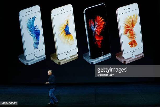 Apple Senior Vice President of Worldwide Marketing Phil Schiller speaks about iPhone docks during a Special Event at Bill Graham Civic Auditorium...