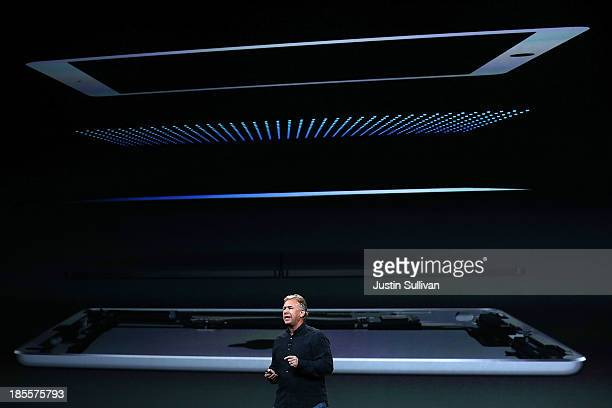 Apple Senior Vice President of Worldwide Marketing Phil Schiller announces the new iPad Air during an Apple announcement at the Yerba Buena Center...