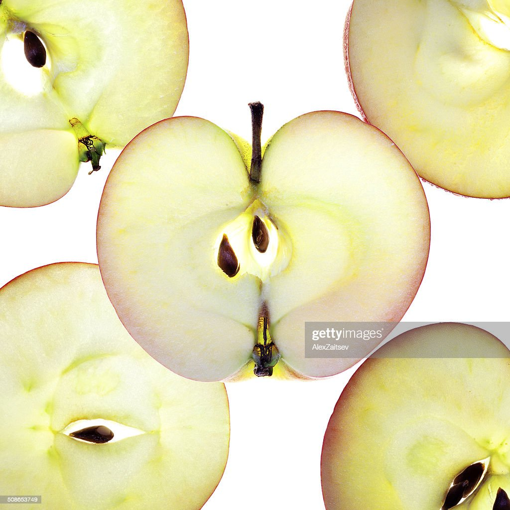 Apple Slices : Stock Photo