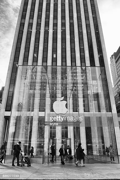 Apple Store at 5 th Avenue in New York City