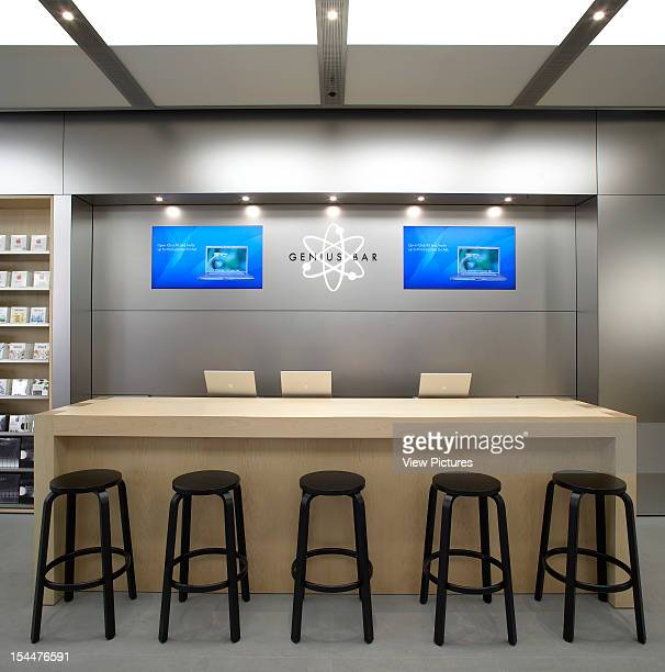 Apple Store Manchester United Kingdom Architect Gensler Apple Store Genius Bar