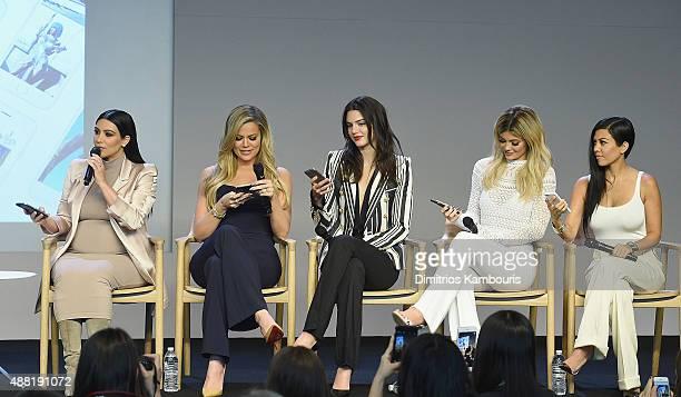 Apple Store Soho Presents Meet The Developers: Kim Kardashian, Khloe Kardashian, Kendall Jenner, Kylie Jenner and Kourtney Kardashianat attends the...