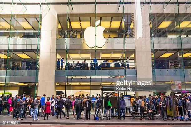 apple store sydney - releasing - fotografias e filmes do acervo