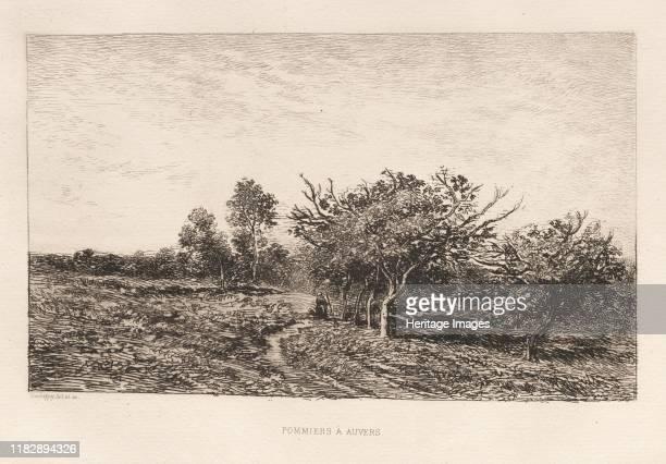Apple Trees at Auvers 1877 Creator Henri Louis Duhamel du Monceau