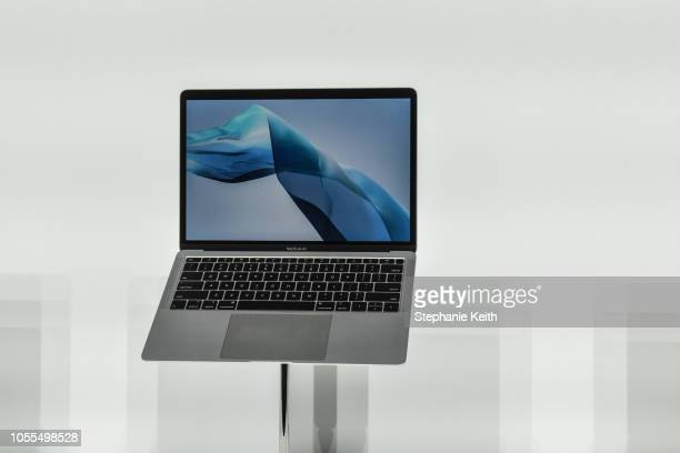 Apple unveils a new MacBook Air during an Apple launch event at the Brooklyn Academy of Music on October 30 2018 in New York City Apple also debuted...