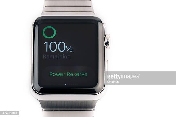 Apple ver 42 mm de acero inoxidable con conexión de pulsera