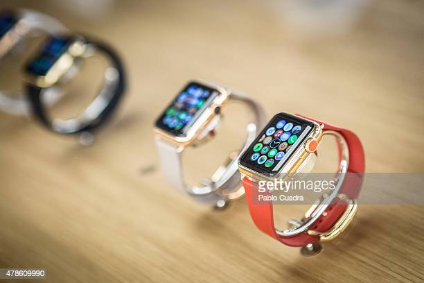 Apple Watch is now available in seven more countries on June 26 2015 in Madrid Spain