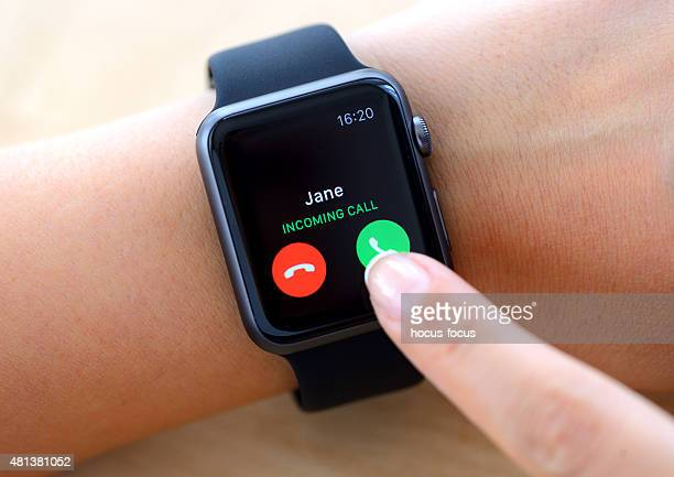 Apple Watch phone screen