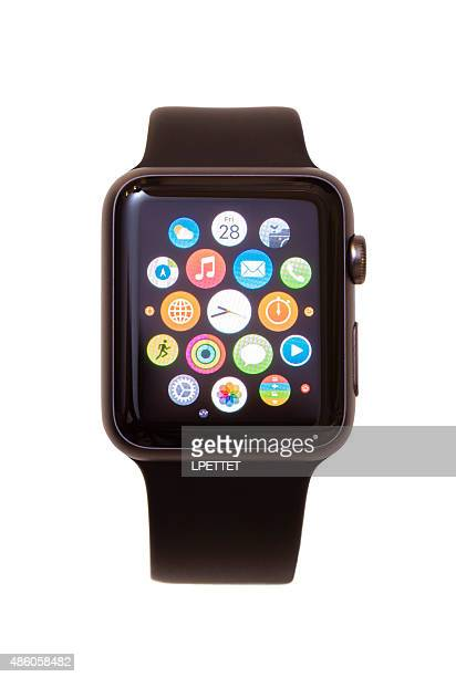 apple watch - apple watch stock pictures, royalty-free photos & images