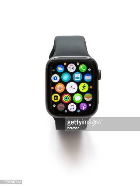 Apple Watch Series 4 On White Background