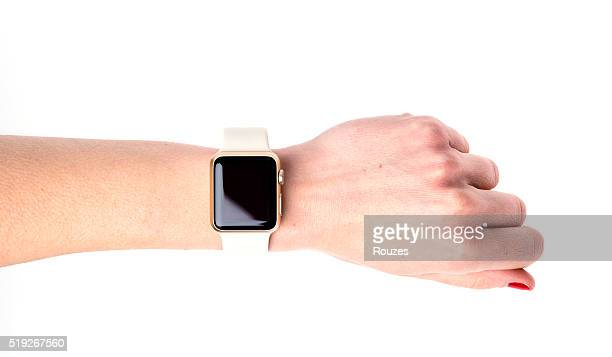 Apple Watch Sport on hand