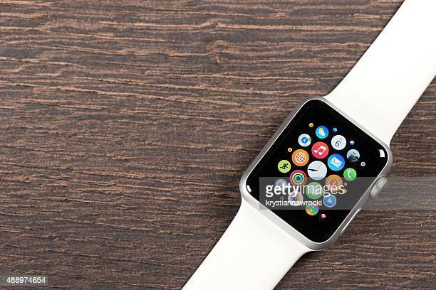 Apple white Watch