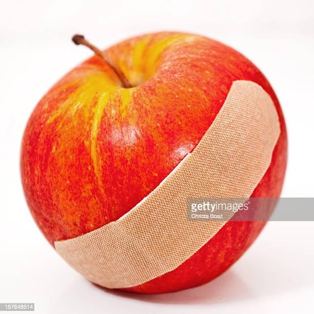 Apple with Bandage