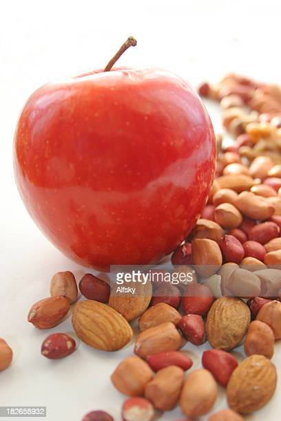 Apple with nuts