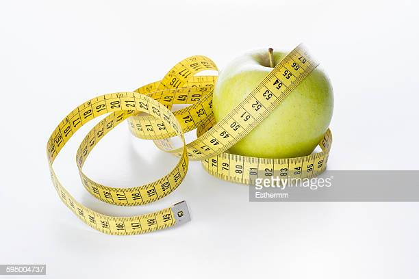 Apple with tape