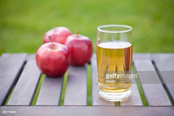 Äpfel und Saft