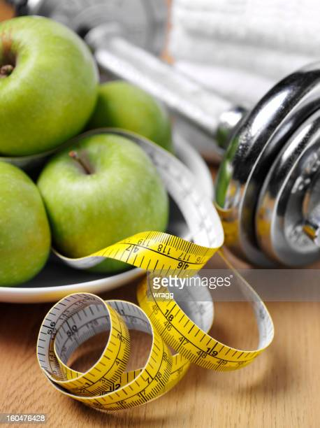 Apples and Weights for a Healthy Lifestyle