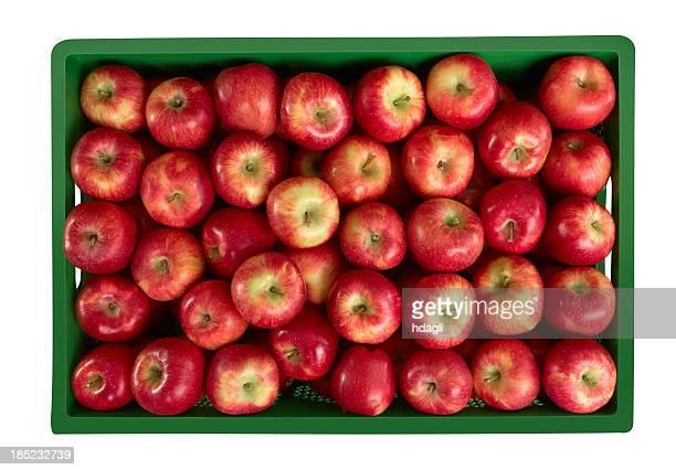 Äpfel im Markt