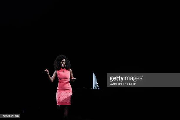 Apple's Bozoma Saint John demonstrated new features in iTunes while speaking at Apple's annual Worldwide Developers Conference presentation at the...