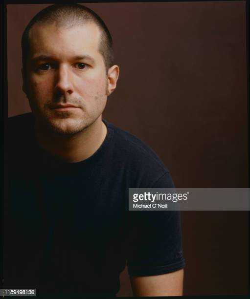 Apple's chief designer Jonathan Ive is photographed on October 10 1999