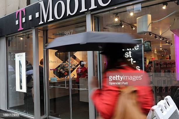 T Mobile Store Manhattan Stock Pictures Royalty Free Photos