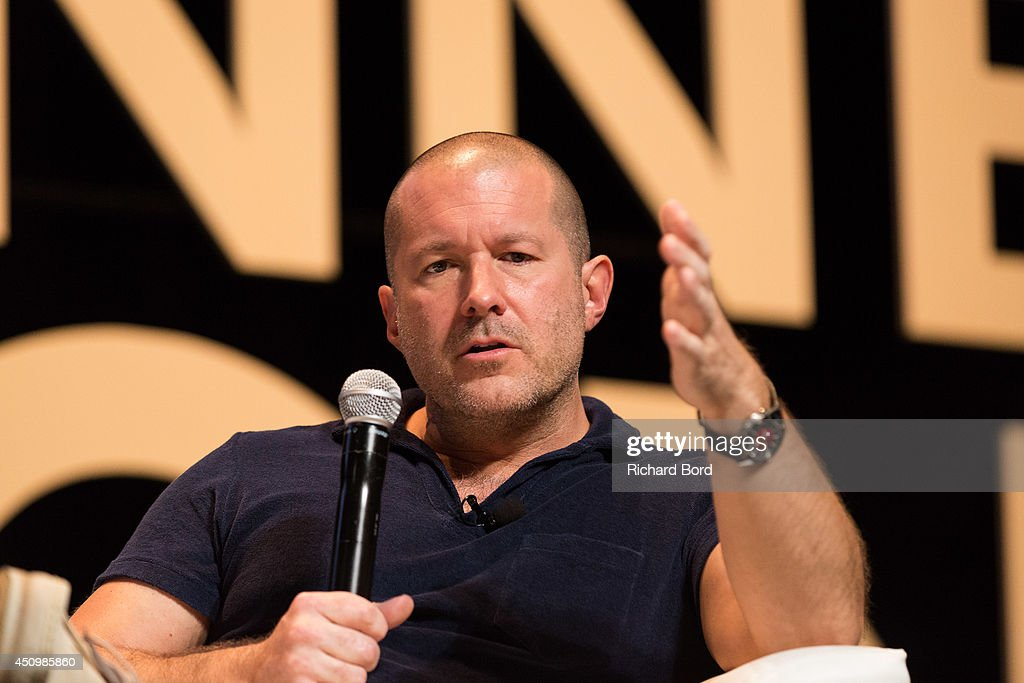 Apple's Senior Vice President of Design Sir Jonathan Ive attends the 'Bono and Jonathan Ive Seminar' during the 2014 Cannes Lions Festival on June 21, 2014 in Cannes, France.