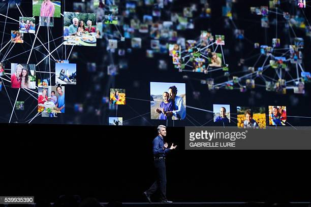 Apple's Vice President of Software Engineering Craig Federighi spoke during the keynote presentation at Apple's annual Worldwide Developers...