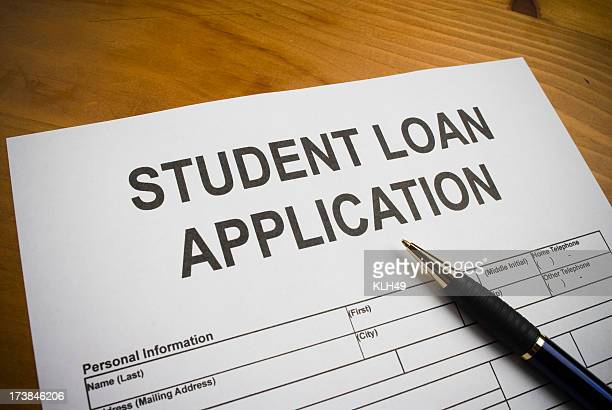 Application for a Student Loan