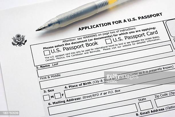 application for a u.s. passport