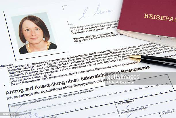 Application for an Austrian passport