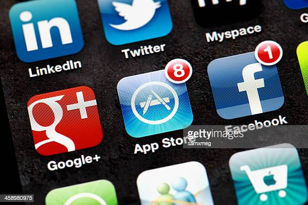 applications on iphone - google stock photos and pictures