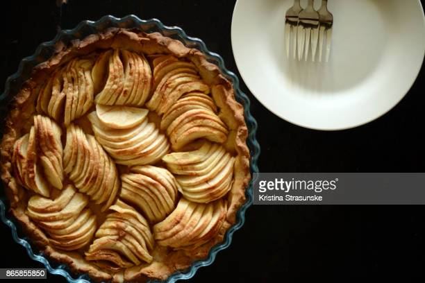 applie pie - apple pie stock photos and pictures