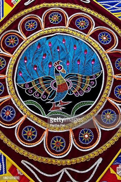 Applique Work at Pipli near Puri for decoration