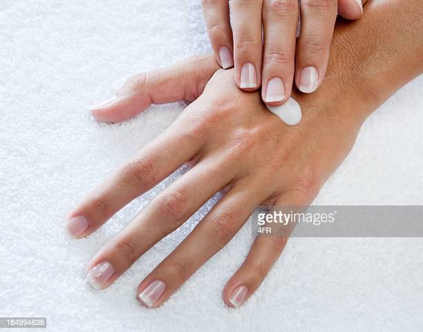 Appliquer une Lotion pour les mains (XXXL