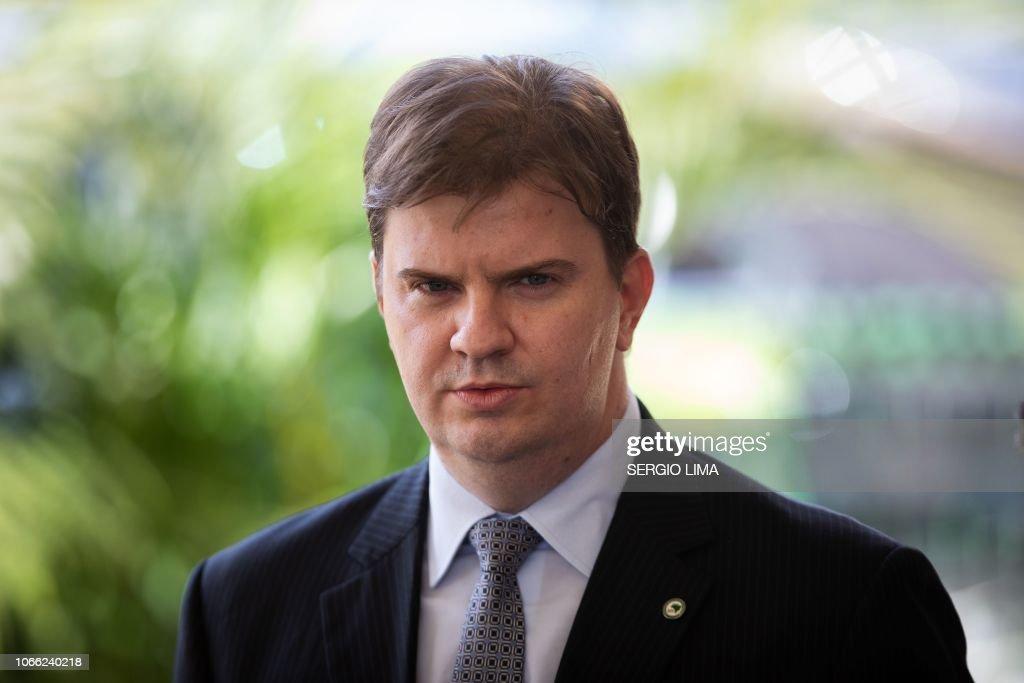 BRAZIL-POLITICS-BOLSONARO-CANUTO : News Photo