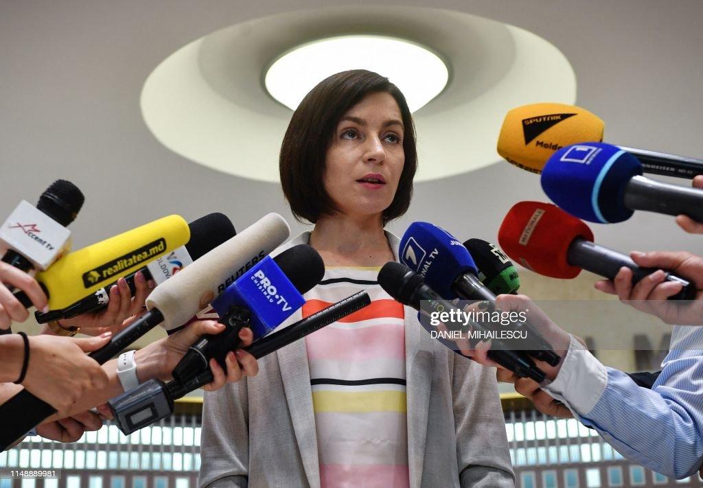 MOLDOVA-POLITICS : News Photo