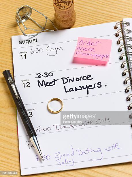 Divorce Papers Stock Photos And Pictures
